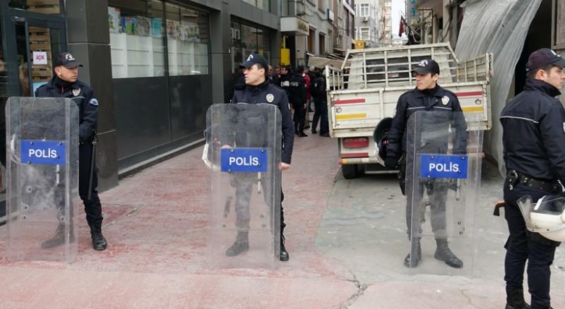 Samsun'da karşıt görüşlü gruplar arasında kavga çıktı