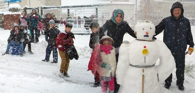Samsun'da okullara kar tatili olacak mı?