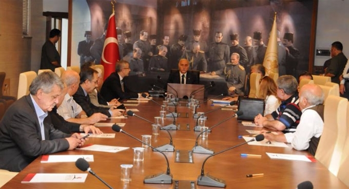 Samsun'da seçim güvenliği toplantısı yapıldı