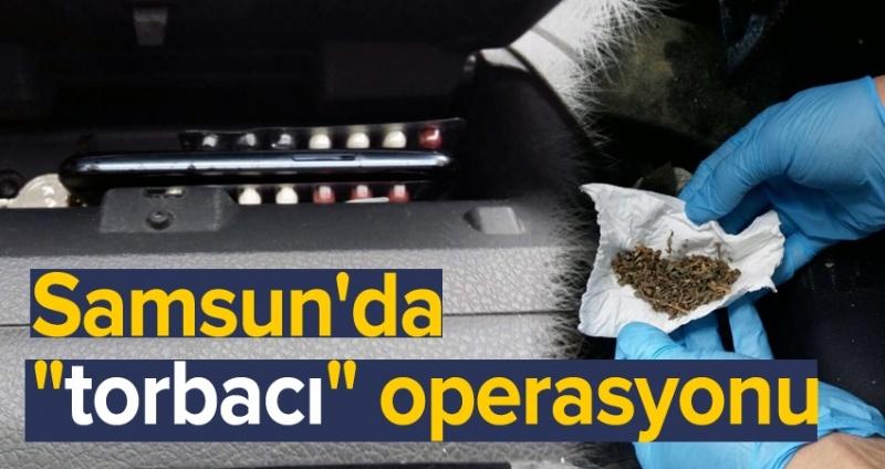 Samsun'da uyuşturucu hap operasyonu