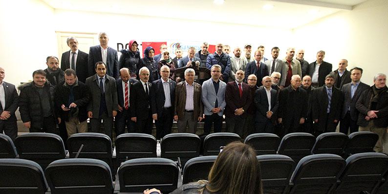 Samsun'da Zeytin Dalı Harekatı'na destek