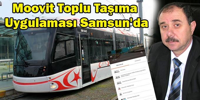 Samsun'daki toplu taşıma araçları artık cep telefonunuzda!