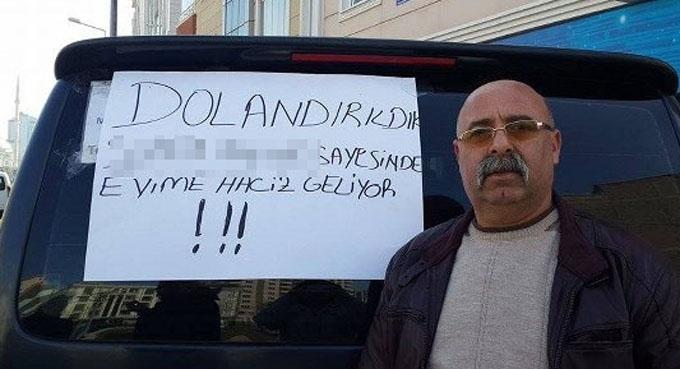 Samsunlu vatandaştan ışık hızında protesto..!