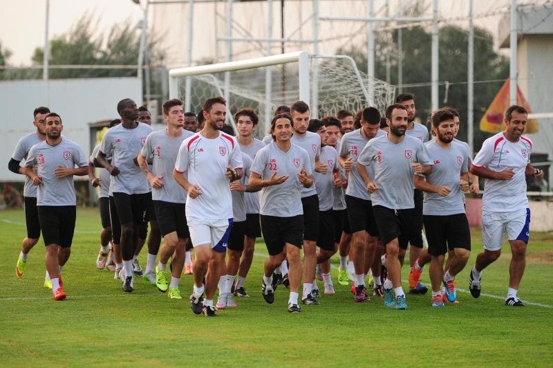 Samsunspor Adana Demirspor hazırlıklarına başladı