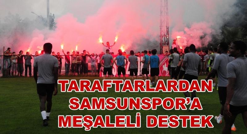 Samsunspor Adana Demirspor hazırlıklarına devam ediyor