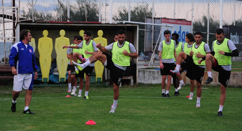 Samsunspor Boluspor hazırlıklarını sürdürüyor