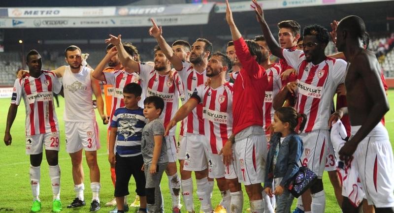 Samsunspor Boluspor maçı sonucu:3-0