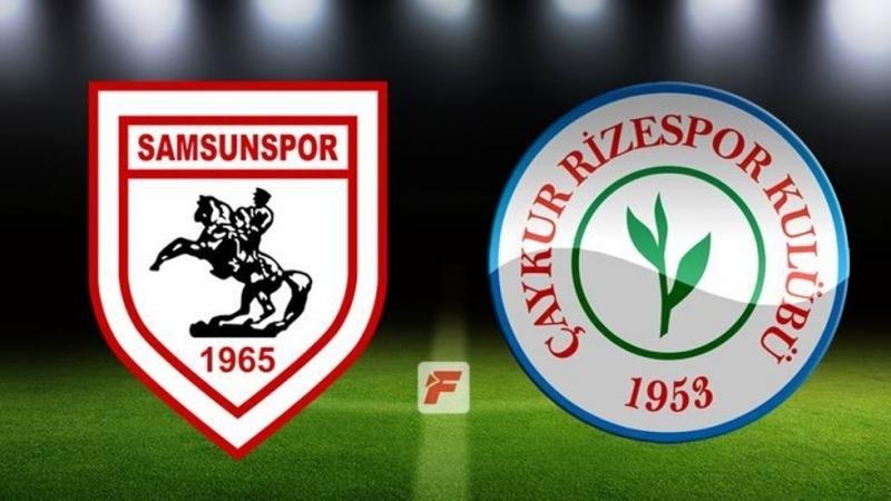 Samsunspor Çaykur Rizespor maç sonucu:0-0