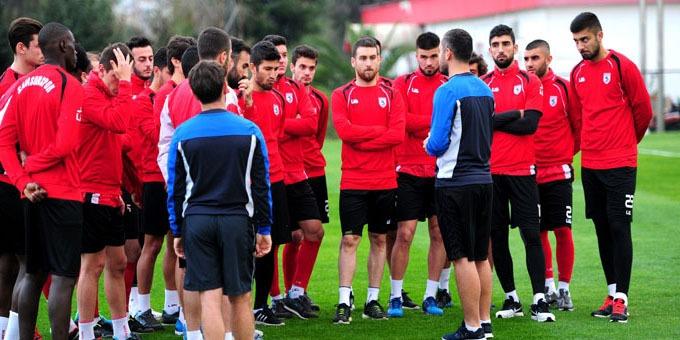 Samsunspor da Manisaspor hazırlıkları başladı