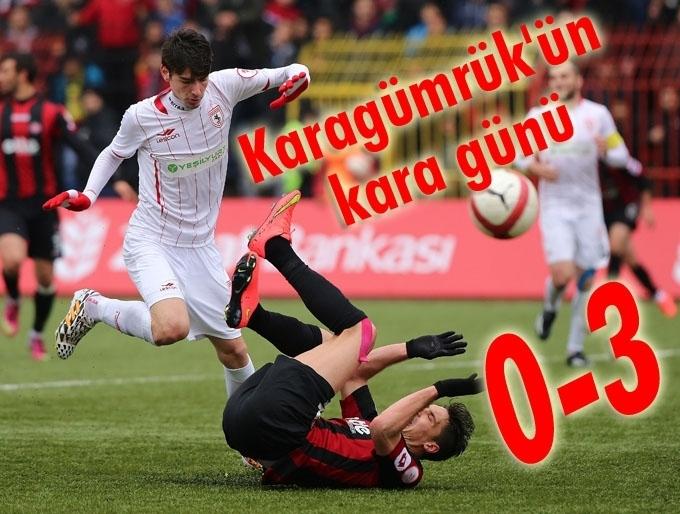 Samsunspor Karagümrük'ü 3-0 mağlup etti