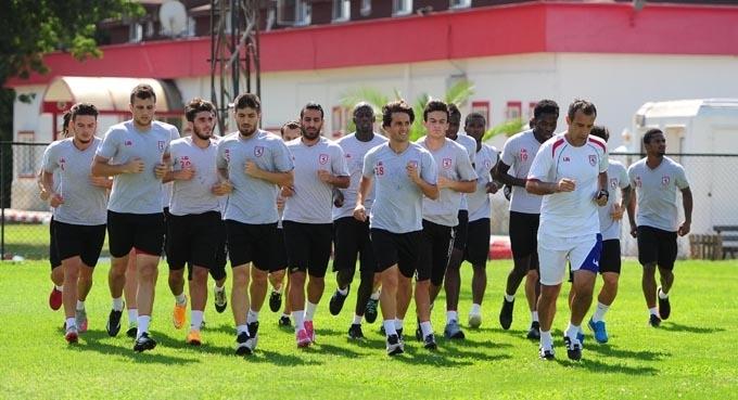 Samsunspor Karşıyakaspor maçı hazırlıklarına başladı