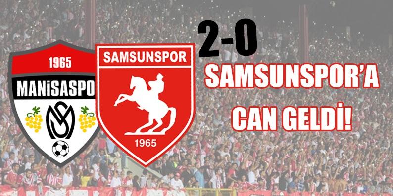 Samsunspor Manisaspor maç sonucu: 2-0