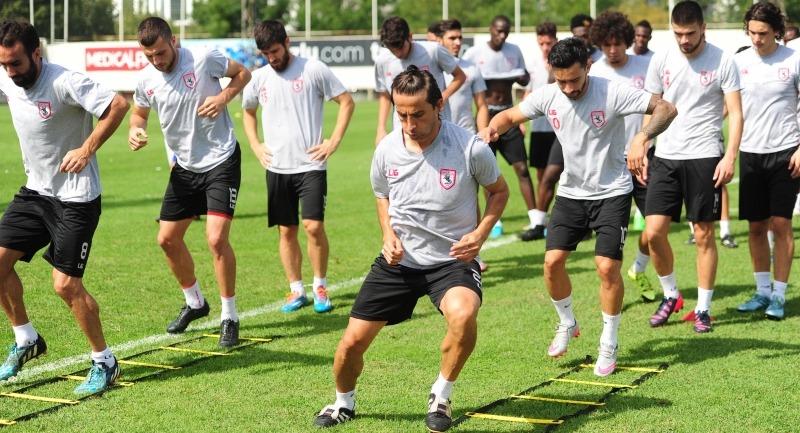 Samsunspor sabah antrenmanını tamamladı 20.09.2015