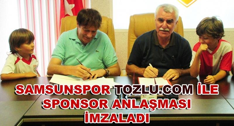 Samsunspor Tozlu.com ile sponsor anlaşması imzaladı