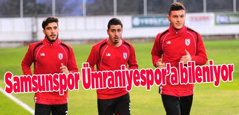 Samsunspor'da Ümraniyespor maçı hazırlıkları başladı