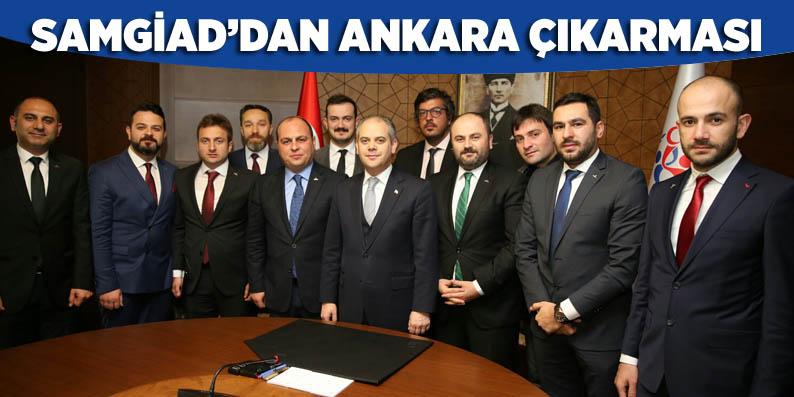 Samsun'un başarılı genç İşadamları'ndan Ankara zirvesi