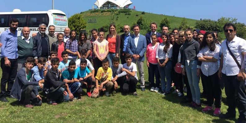 Sarayköy ilköğretim okulu öğrencilerine başarı ödülü