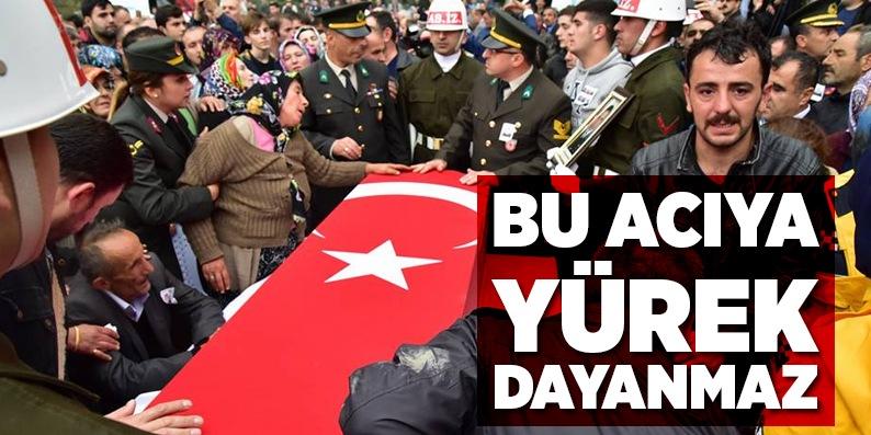 Şehit Uzman Çavuş Bayram Aksu son yolculuğuna uğurlandı