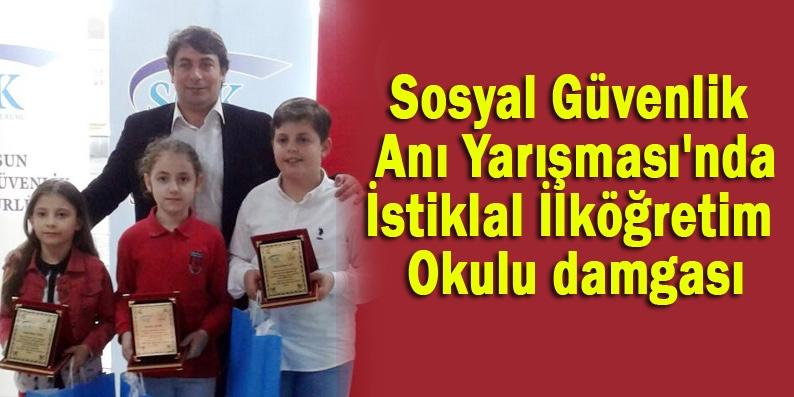 SGK'dan İstiklal İlköğretim Okulu'na üç ödül