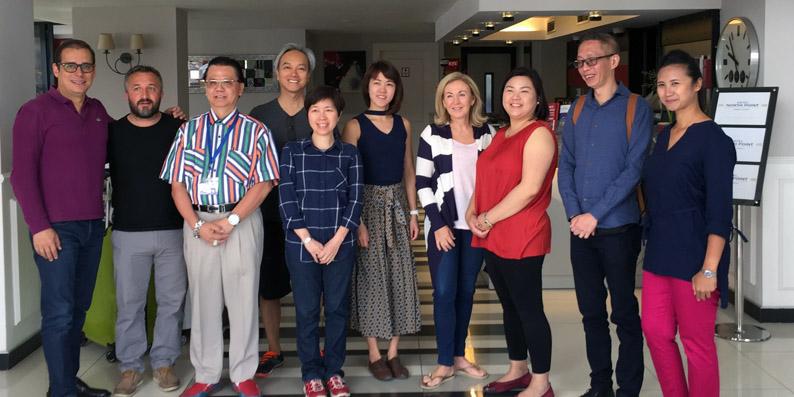 Singapur'un önemli acentecileri Samsunda