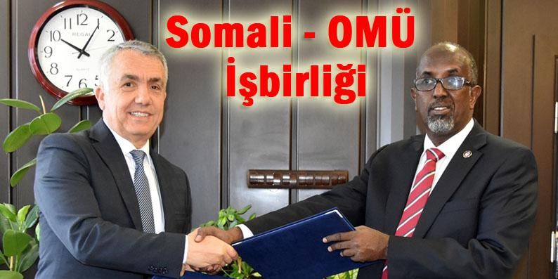 Somali Devlet Üniversitesi ile İş Birliği Protokolü İmzalandı