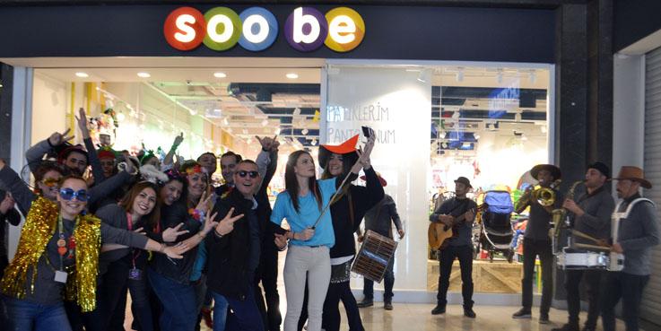 Soo be, Yeni Mağazasını Samsun Piazza'da Açtı