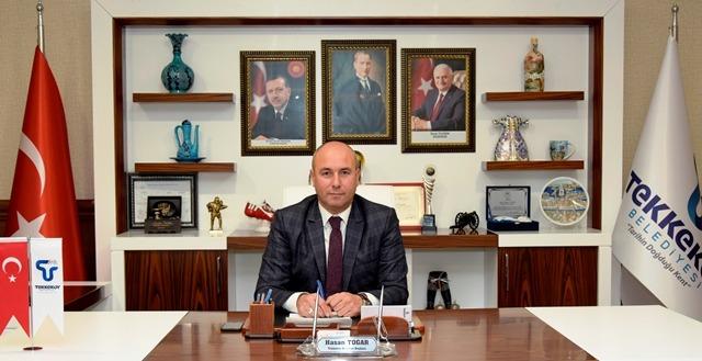 Tekkeköy Belediye Başkanı Hasan Togar'ın 19 Mayıs Mesajı