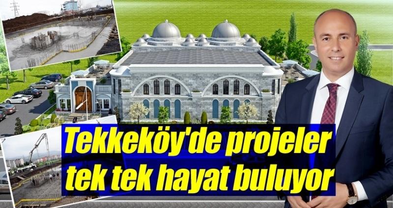 Tekkeköy Belediyesi Osmanlı Hamamı Temeli atıldı