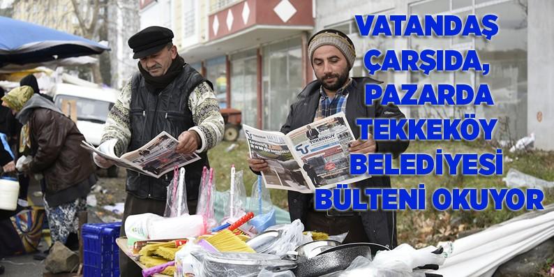 Tekkeköy Belediyesi Bülteni'ne tam not