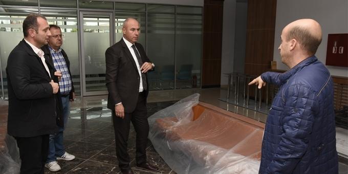 Tekkeköy Belediyesi yeni hizmet binası açıldı
