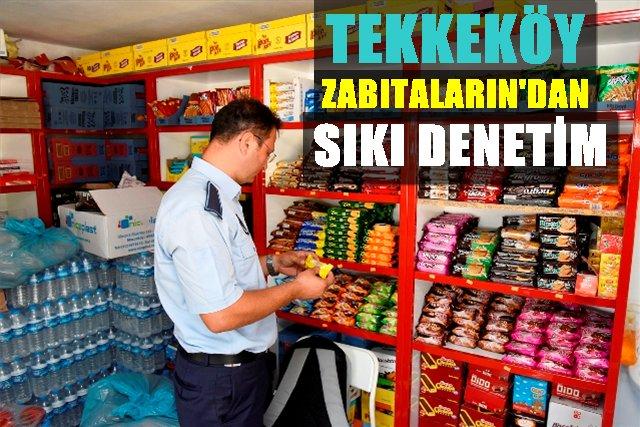 Tekkeköy Belediyesin'den okul kantinlerine sıkı denetim