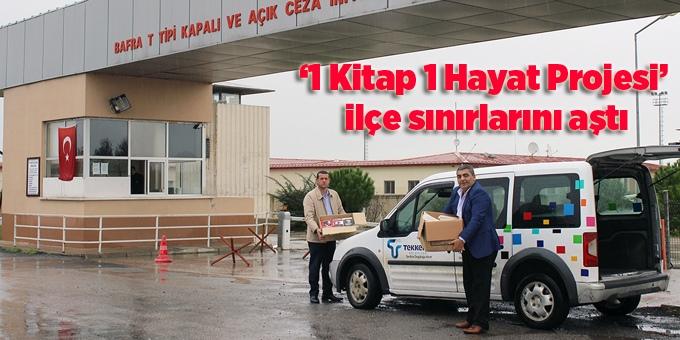 Tekkeköy Belediyesi'nden kader mahkumlarına kitap