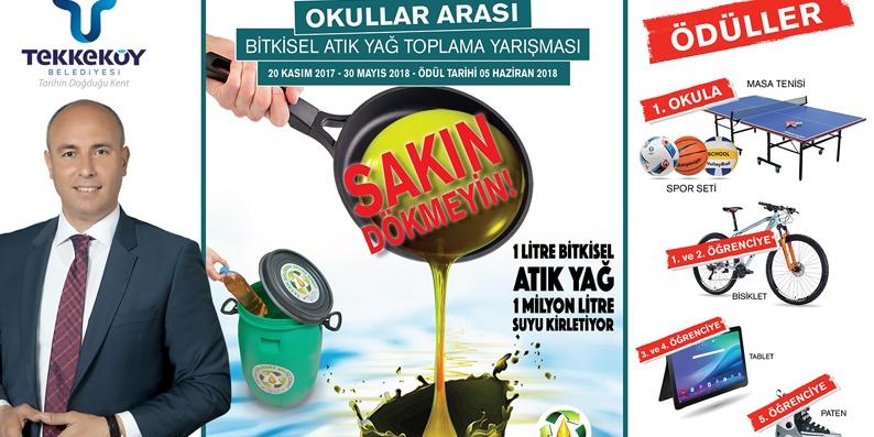 Tekkeköy'de Geri dönüşüm projesi meyvelerini vermeye başladı