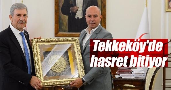 Tekkeköy'de hastane hasreti bitiyor!