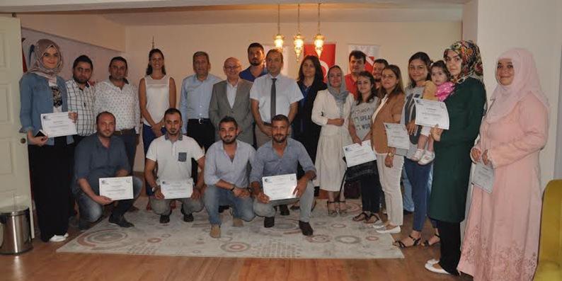 Terme'de genç girişimciler belgelerini aldı
