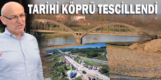Terme'de kemerli tarihi köprü koruma altına alındı