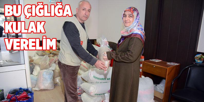 Terme'den Halep'e yardım eli!