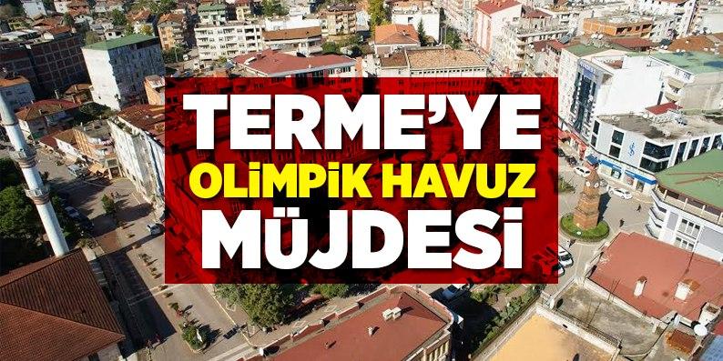 Terme'ye olimpik havuz müjdesi