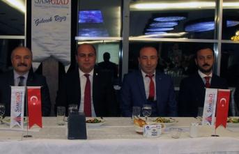 SAMGİAD'dan Nisan ayı iş yemeği toplantısı