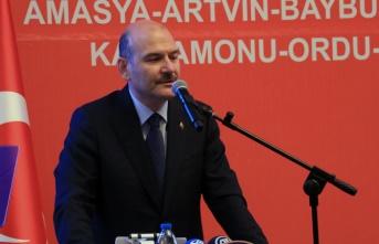 Süleyman Soylu'dan Samsun'da önemli açıklamalar