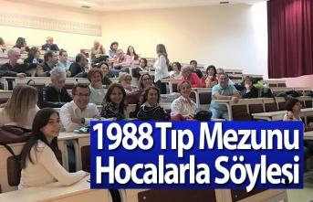 1988 Tıp Mezunu Hocalarla Söyleşi