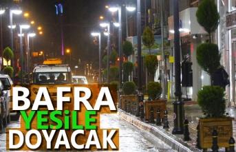 Bafra Belediye Başkanı Kılıç: Bafra'yı Yeşile Doyuracağız