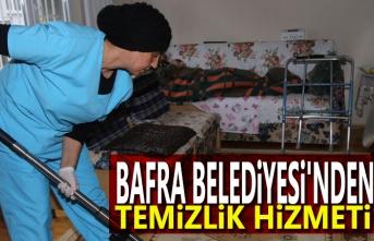 Bafra Belediyesin'den Evde Temizlik Hizmeti