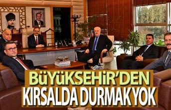 Başkan Zihni Şahin SASKİ'de