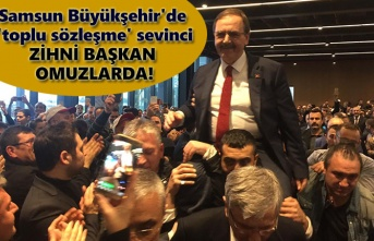 Samsun Büyükşehir'de tarihi gün