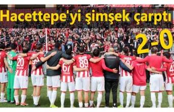 Samsunspor Hacettepe maç sonucu 2-0