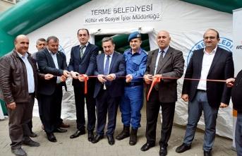 Terme'de Zeka Oyunları Sergisi açıldı