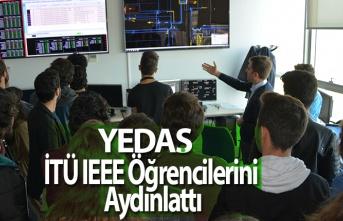 YEDAŞ, İTÜ IEEE Öğrencilerini Elektrik Dağıtım Teknolojileri Konusunda Aydınlattı