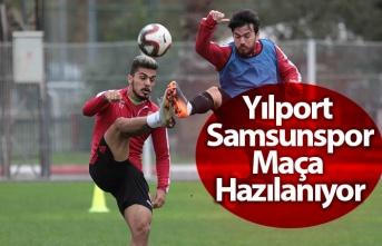 Yılport Samsunspor, Uşakspor hazırlıklarını sürdürüyor