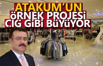 Atakum'da 89 noktada Hayır Çarşısı mağazaları açıldı